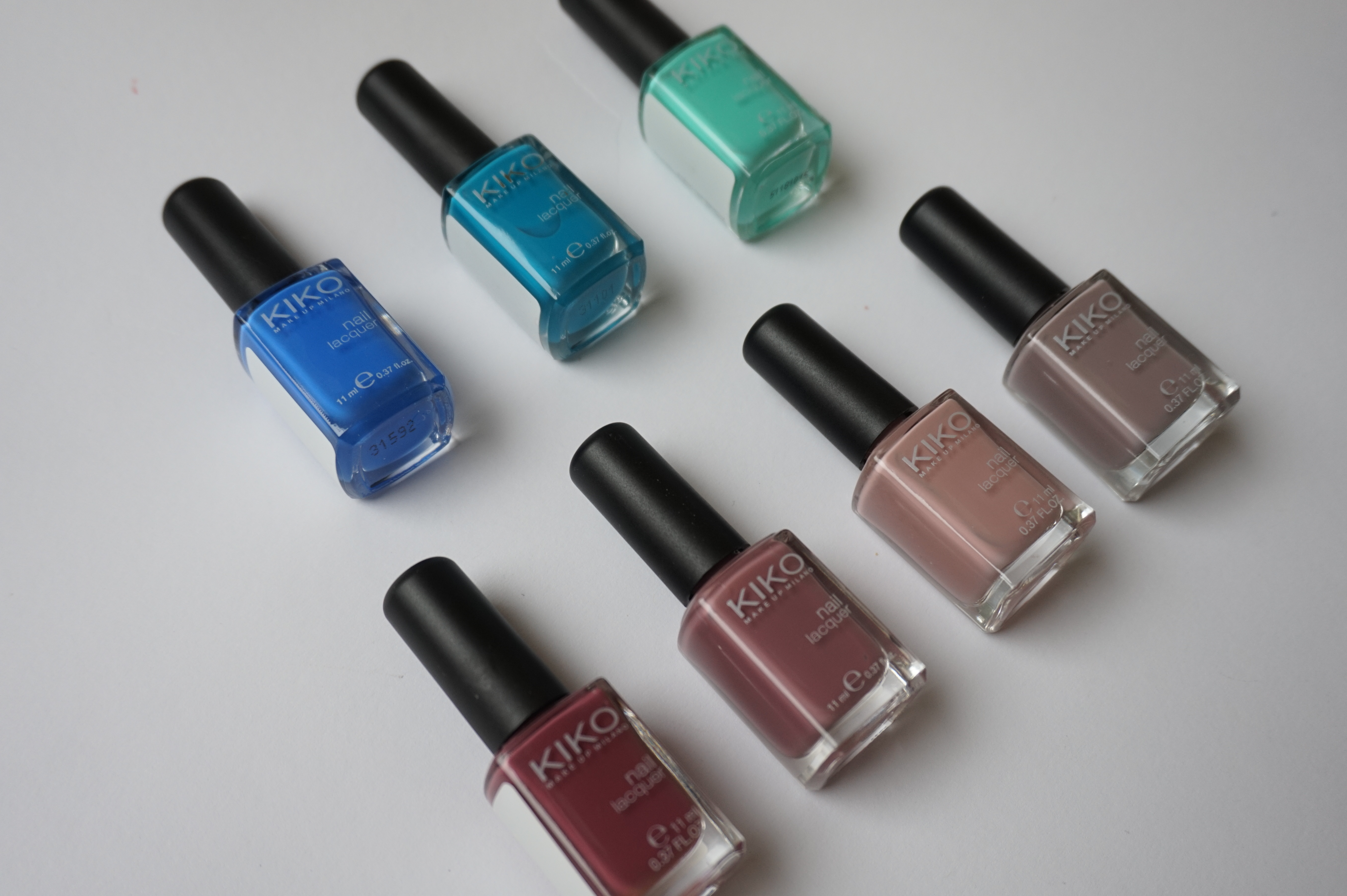 KIKO Milano Nail polishes