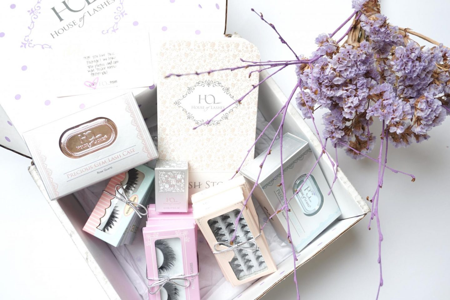 House of Lashes Unboxing ~ TheBeauParlour