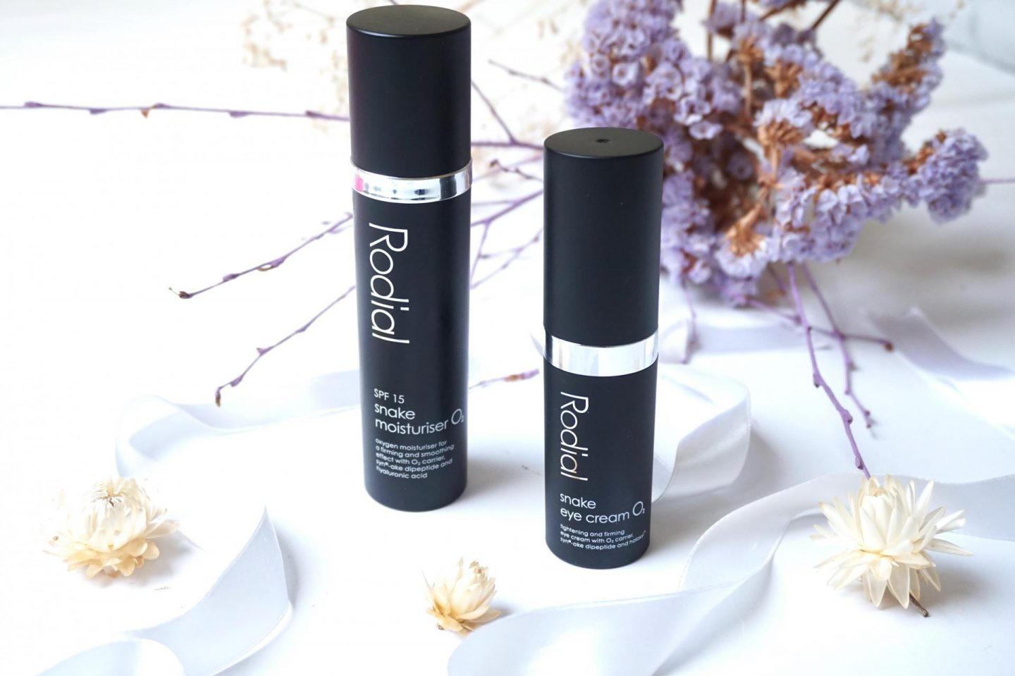 Rodial: Snake Eye Cream O2 and Moisturiser O2 SPF15