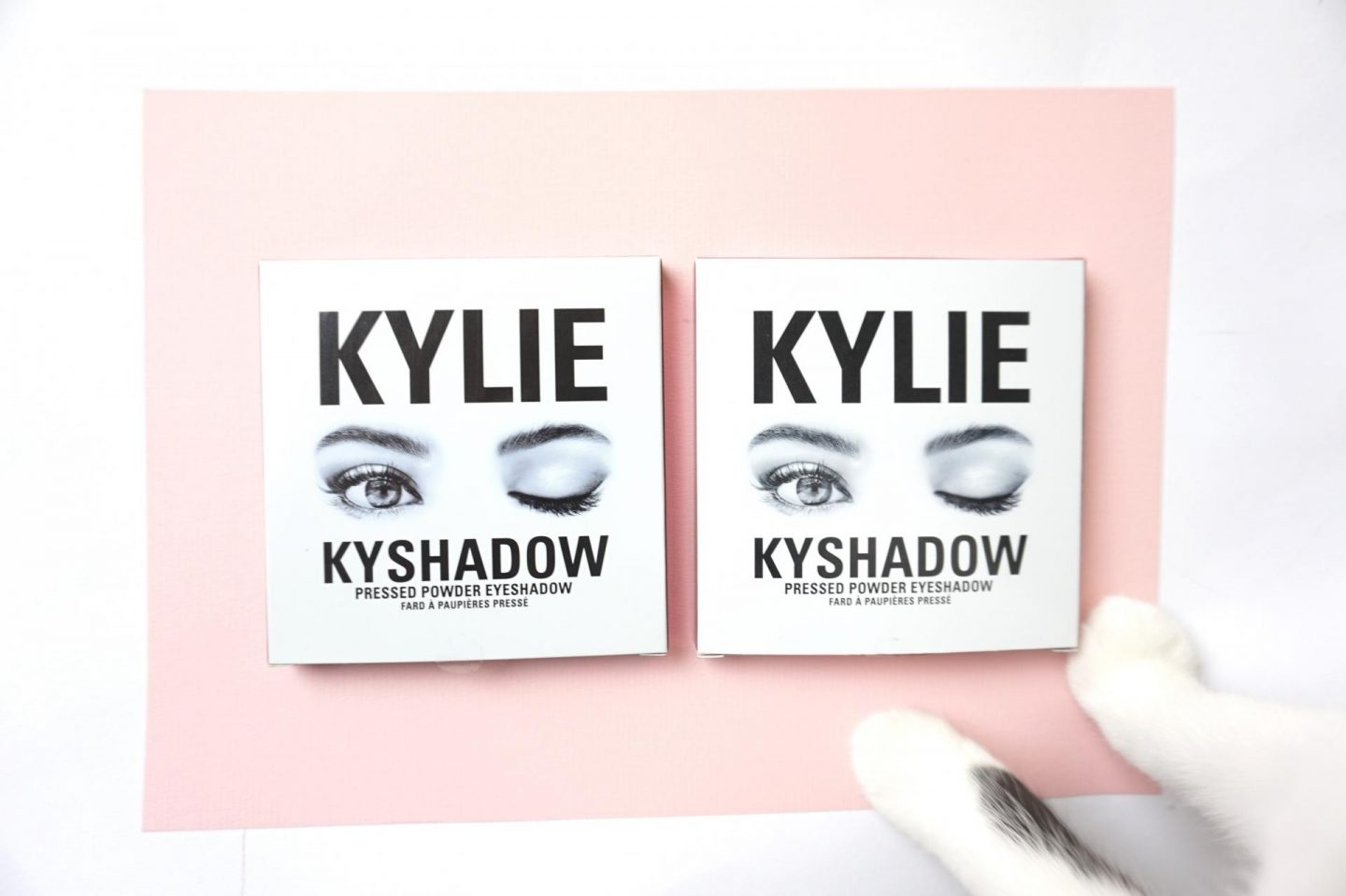 Kylie Cosmetics: Kyshadows, Bronze and Burgundy Palette