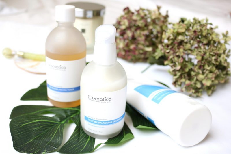 Troubled skin? Try the Korean Aromatica Tea Tree line