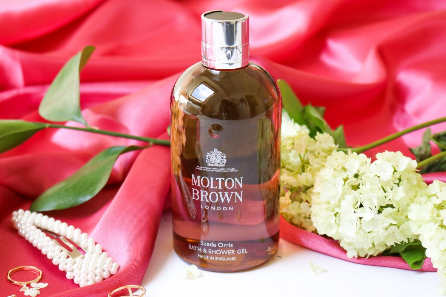 Molton Brown Suede Orris Bath & Shower Gel