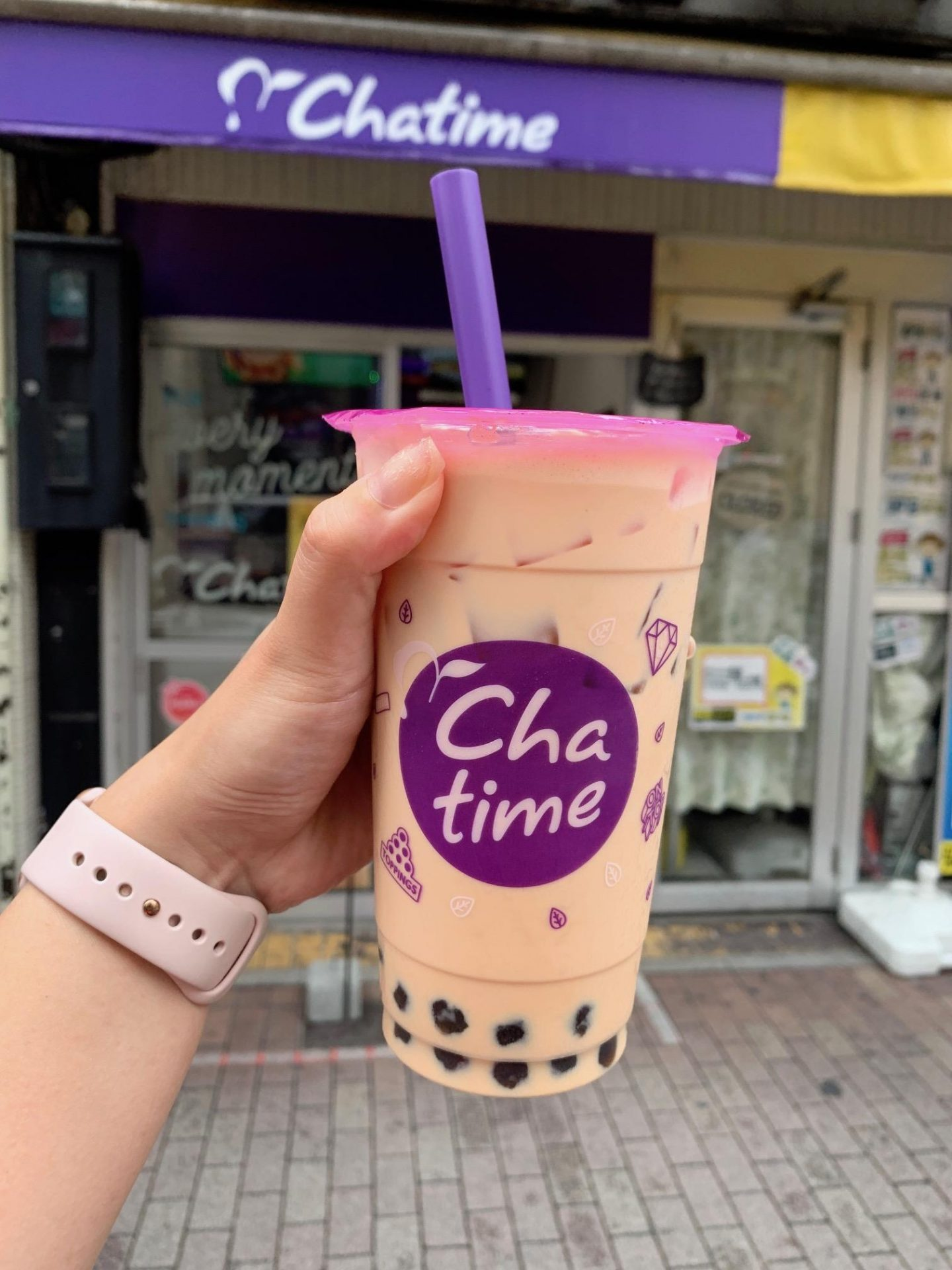 Chaa Time Bubble Tea in Japan Ikebukuro