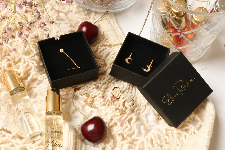 gouden oorbellen van eline rosina