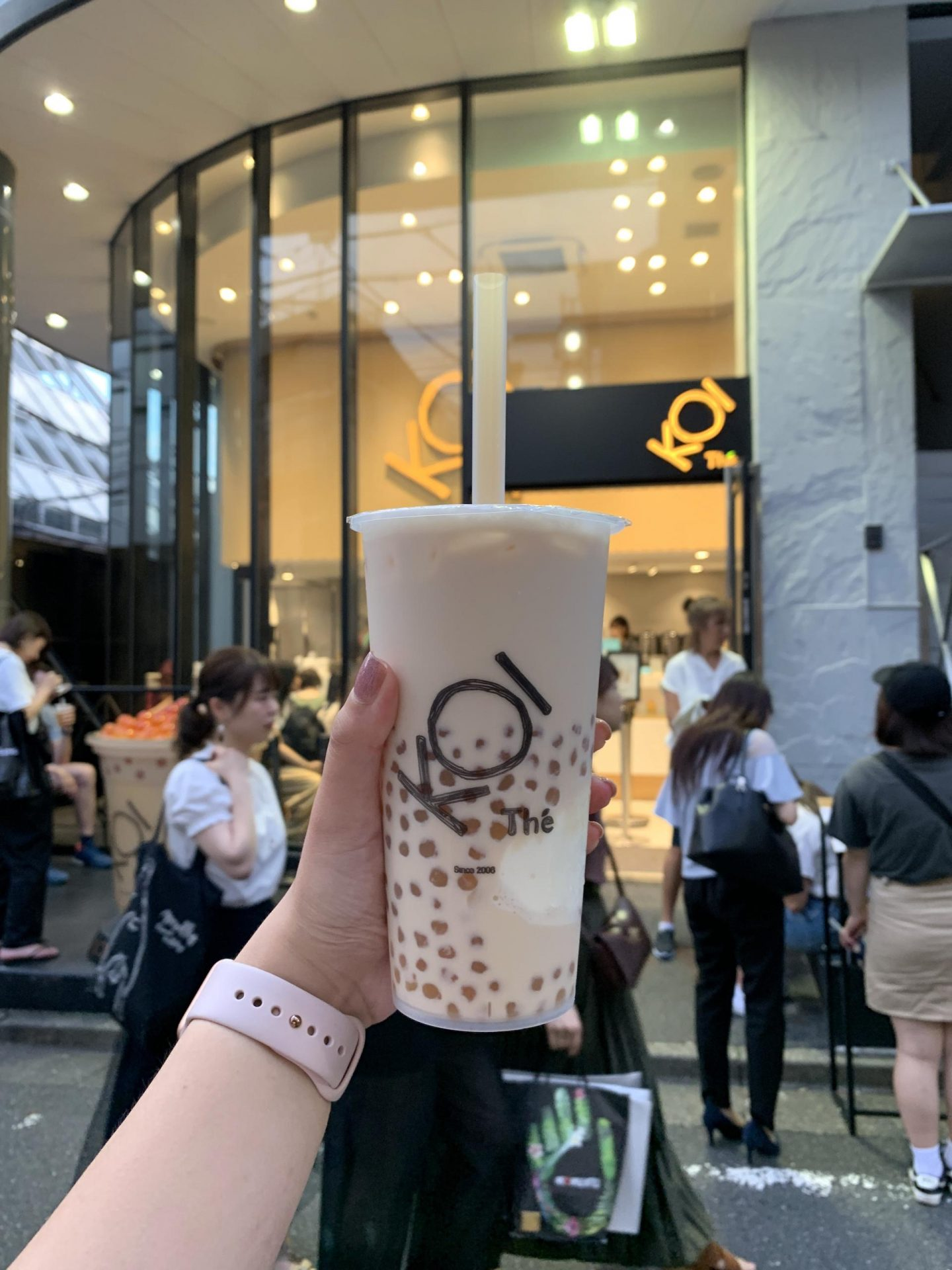 KOI Thé Milk Tea in Harajuku Japan