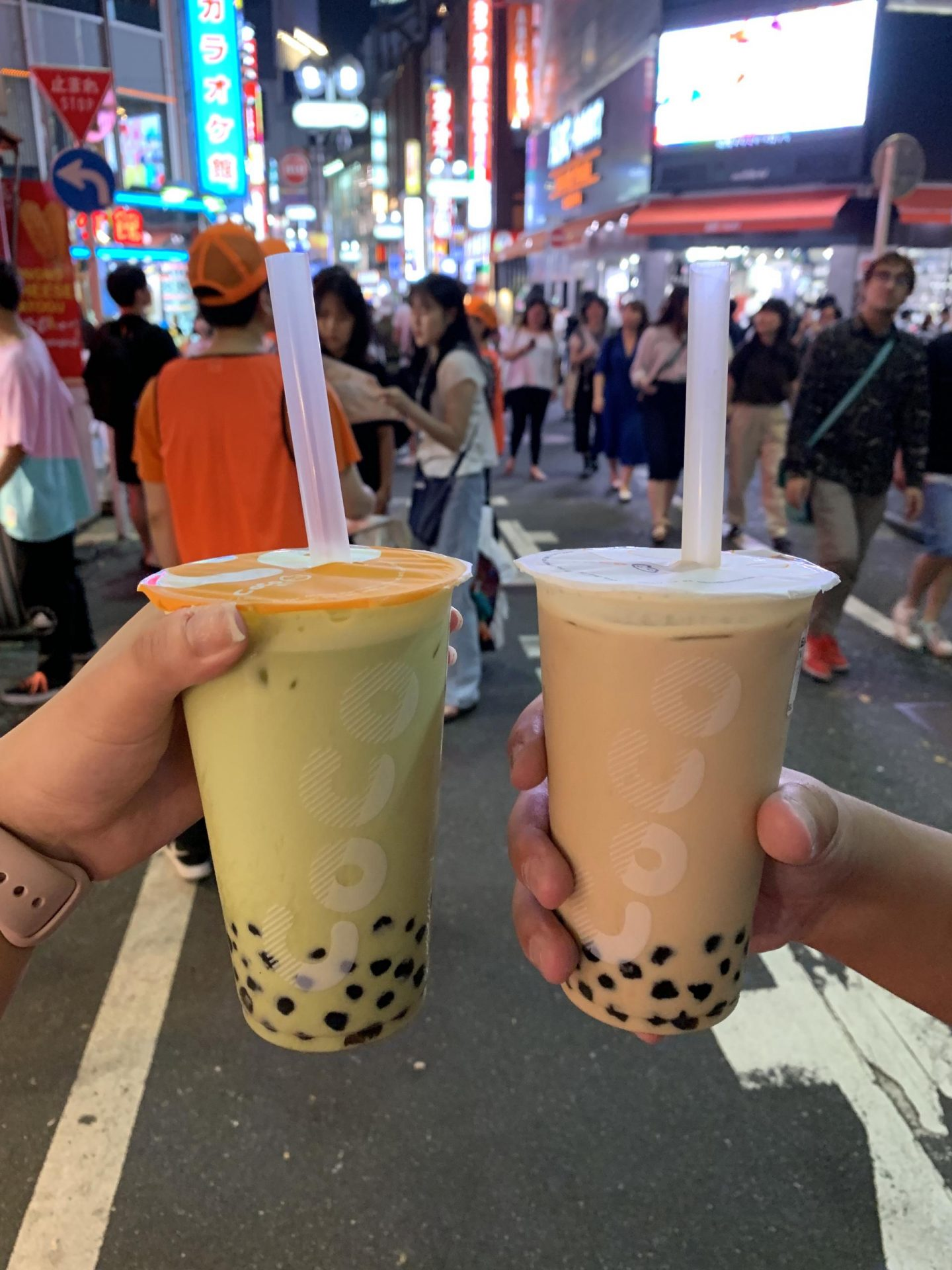 CoCo Milk Tea in Shibuya Japan Tokyo