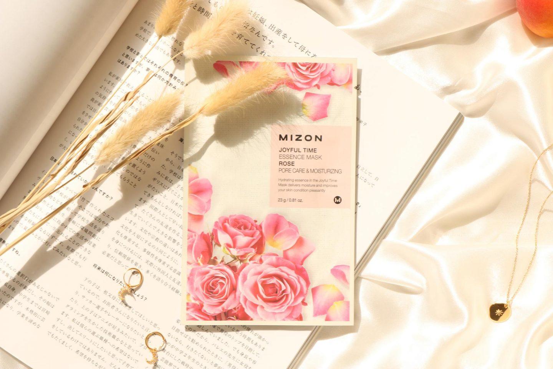 Mizon Joyful Time Essence Mask Rose Pore Care and Moisturizing