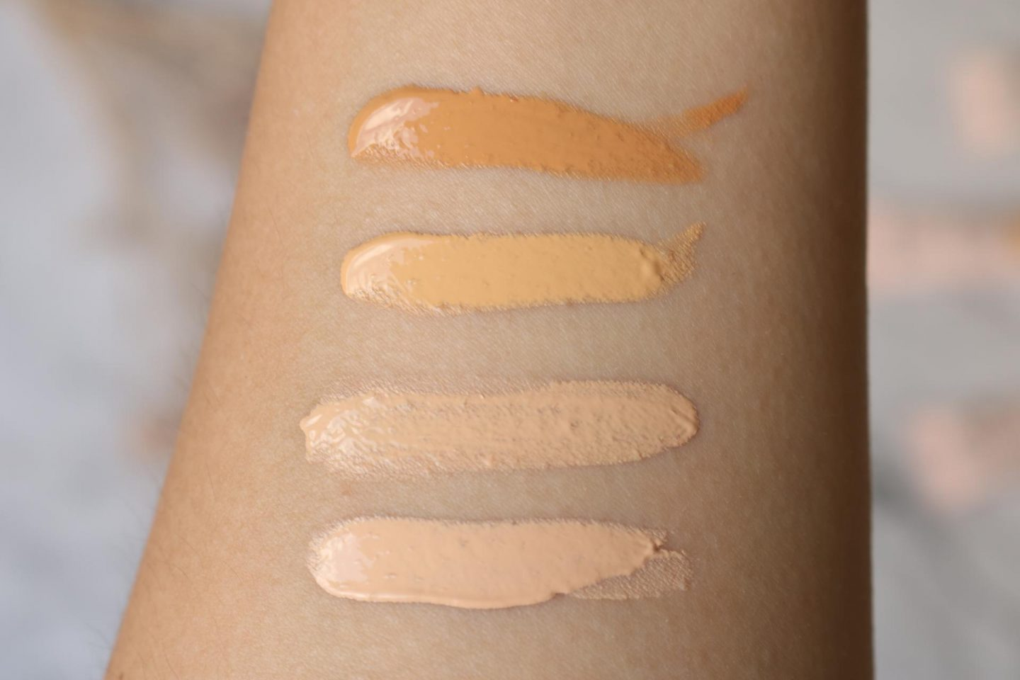 Bare With Me Tinted Skin Veil foundation review swatches